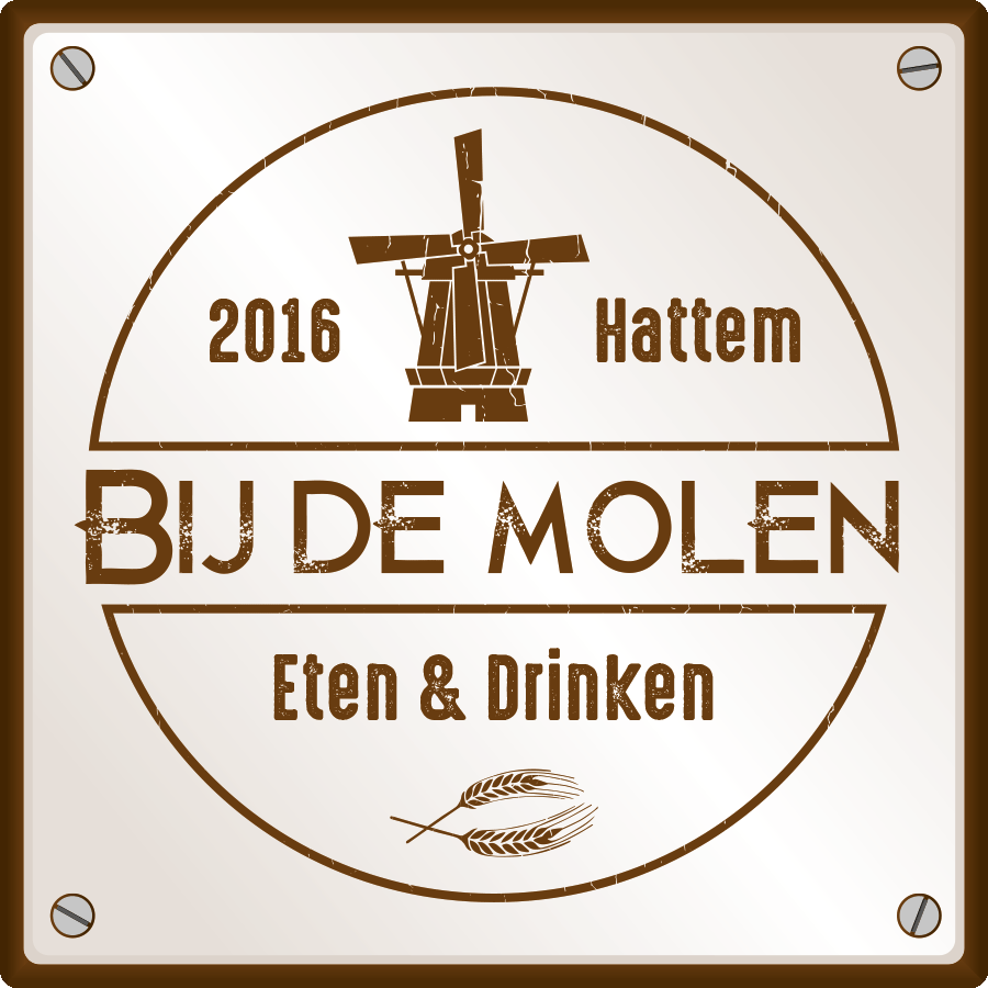 Bij de molen Hattem Logo